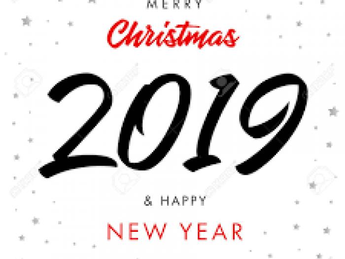 Fêtes de fin d'année 2019